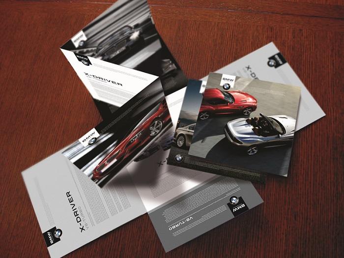 Thiết kế brochure cho thương hiệu BMW